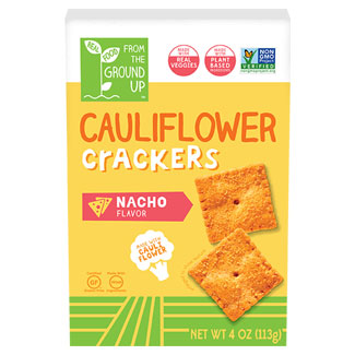 Nacho Cauliflower Crackers by From the Ground Up MAIN
