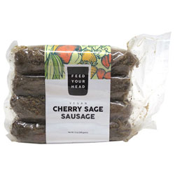 Cherry Sage Sausages by Feed Your Head THUMBNAIL