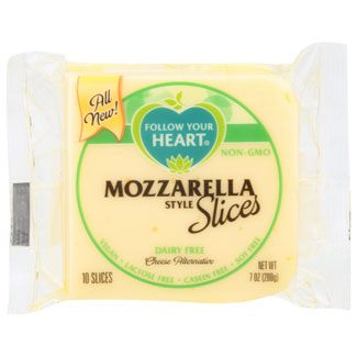 Follow Your Heart Cheese Slices - Mozzarella MAIN