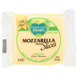 Follow Your Heart Cheese Slices - Mozzarella THUMBNAIL