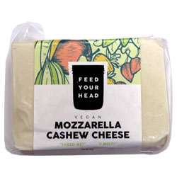 Feed Your Head Mozzarella Cashew Cheese Block THUMBNAIL