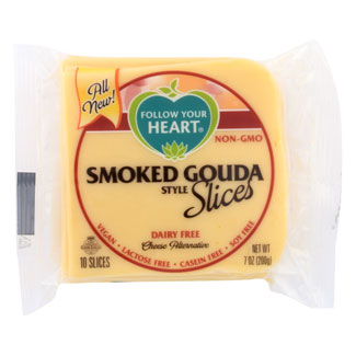 Follow Your Heart Cheese Slices - Smoked Gouda MAIN