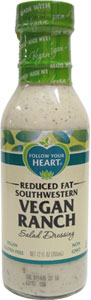 Follow Your Heart Reduced Fat Southwestern Vegan Ranch Dressing