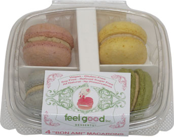 Vegan French Macarons by Feel Good Desserts