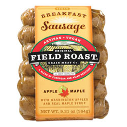 Field Roast Apple Maple Breakfast Sausages THUMBNAIL