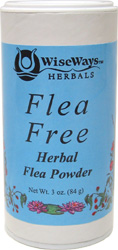Flea Free Herbal Flea Powder by WiseWays