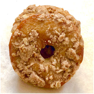Gluten-Free Pumpkin Coffee Cake Donuts by Flourish Baking Co. MAIN