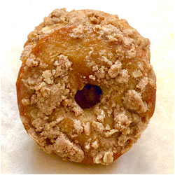 Gluten-Free Pumpkin Coffee Cake Donuts by Flourish Baking Co. THUMBNAIL