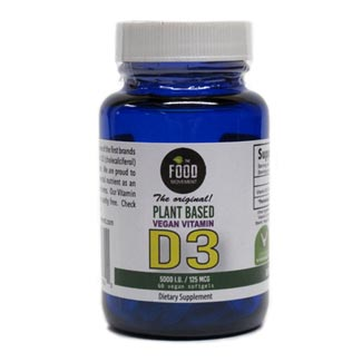 Vegan Vitamin D3 Capsules by The Food Movement MAIN