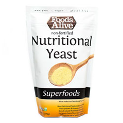 Foods Alive Non-Fortified Nutritional Yeast - 6 oz. package THUMBNAIL