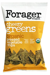 Cheezy Greens Organic Pressed Vegetable Chips by Forager Project