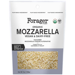 Forager Project Organic Mozzarella Shreds THUMBNAIL