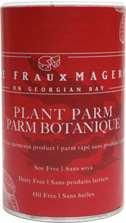 Plant Parm Dairy-Free Parmesan Alternative by The Frauxmagerie LARGE
