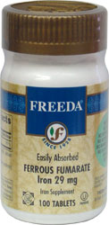 Ferrous Fumarate Iron Supplement by Freeda