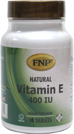 Vitamin E 400iu Tablets by Freeda Natural Products