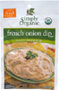 Vegan French Onion Dip Mix by Simply Organic