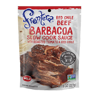 Frontera Red Chile Barbacoa Slow Cook Sauce MAIN
