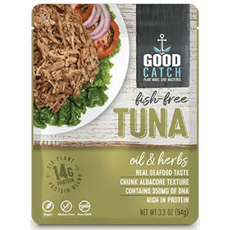 Good Catch Fish-Free Tuna - Oil & Herbs MAIN