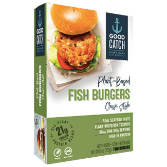 Good Catch Plant-Based Classic Style Fish Burgers MAIN