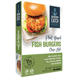 Good Catch Plant-Based Classic Style Fish Burgers THUMBNAIL
