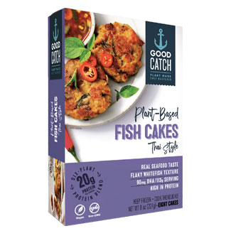 Good Catch Plant-Based Thai Style Fish Cakes MAIN