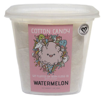 Watermelon Cotton Candy by Get Fluffed Up
