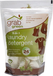 3-In-1 Laundry Detergent by GrabGreen