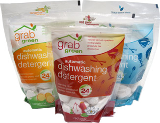 Automatic Dishwashing Detergent by GrabGreen