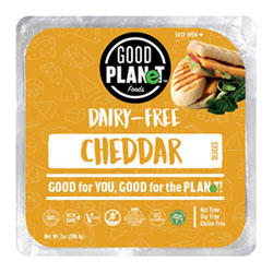 Good Planet Cheddar Cheese Slices THUMBNAIL