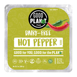 Good Planet Hot Pepper Cheese Slices THUMBNAIL