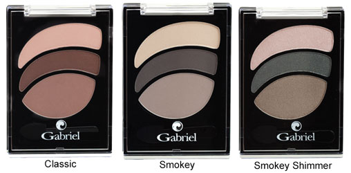 Eyeshadow Trios by Gabriel Cosmetics