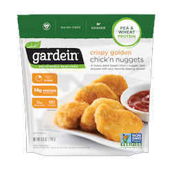 Gardein Crispy Golden Chick'n Nuggets THUMBNAIL