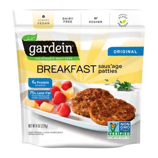 Gardein Breakfast Sausage Patties MAIN