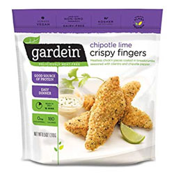 Gardein Chipotle Lime Crispy Chicken Fingers THUMBNAIL
