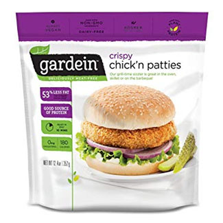 Gardein Crispy Chick'n Patties LARGE