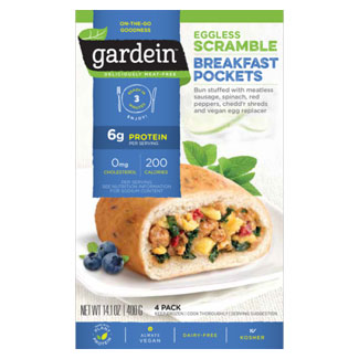Gardein Eggless Scramble Breakfast Pockets MAIN