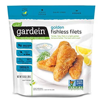Gardein Golden Fishless Filets MAIN