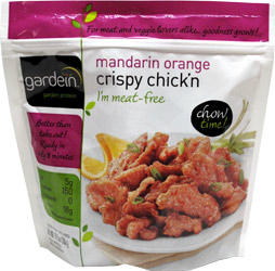 Mandarin Orange Crispy Chick'n Strips by Gardein