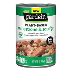 Gardein Plant-Based Minestrone & Saus'ge Soup THUMBNAIL