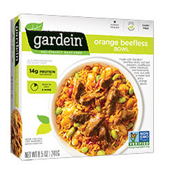 Gardein Orange Beefless Bowl THUMBNAIL