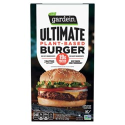 Gardein Ultimate Plant-Based Burger - 2 burger package THUMBNAIL