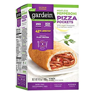 Gardein Meatless Pepperoni Pizza Pockets MAIN