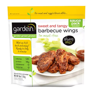 Gardein Sweet and Tangy Meatless Barbecue Wings MAIN