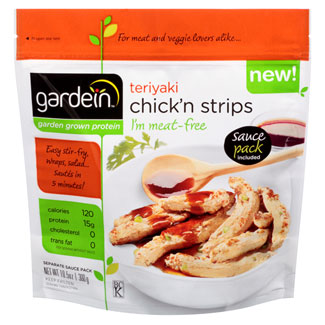 Gardein Teriyaki Chick'n Strips MAIN