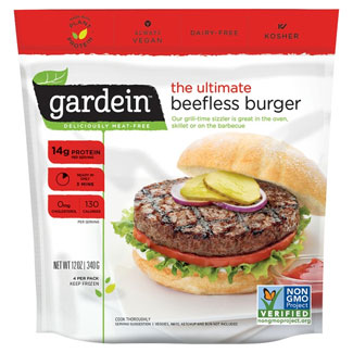 Ultimate Beefless Burger by Gardein MAIN