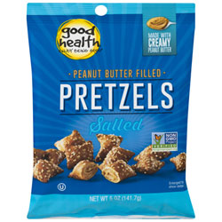 Peanut Butter Filled Salted Pretzels by Good Health THUMBNAIL