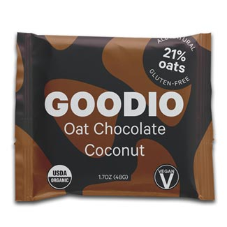 Goodio Organic Oat Milk Chocolate Bar - Coconut MAIN