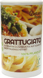 Grattugiato Vegan Parmesan Alternative by Vantastic Foods
