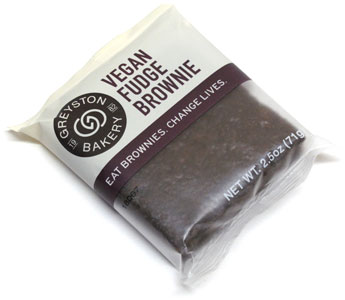 Vegan Fudge Brownie by Greyston Bakery