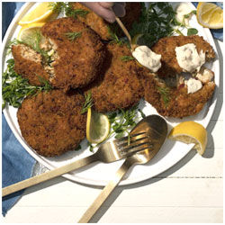 Hungry Planet Crab™ Cakes (formerly Match Meats) THUMBNAIL